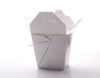中国餐馆外卖配件箱 免版税库存照片