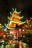 中国餐馆 库存图片