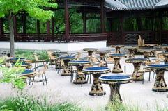 中国餐馆 图库摄影