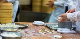 中国饺子粤式点心 免版税图库摄影