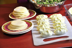 中国饺子食物jiaozi 免版税库存照片