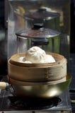 中国饺子-粤式点心食物 免版税库存照片