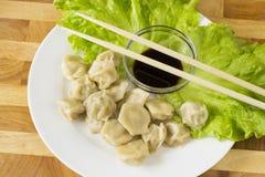 中国饺子 图库摄影