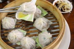 中国饺子 免版税库存图片