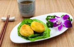 中国饼南瓜餐馆 库存照片