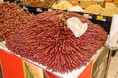 中国香肠 库存图片
