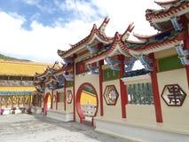 中国马来西亚寺庙 免版税库存照片