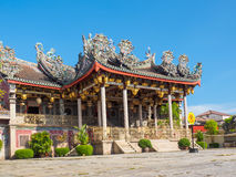 中国马来西亚槟榔岛寺庙 库存图片