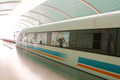 中国高铁路运输速度 免版税图库摄影