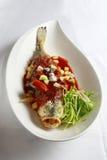 中国鱼食物膳食 免版税库存图片