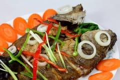 中国鱼食物酸甜点 库存照片