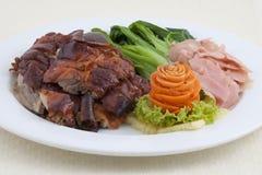 中国鸭子烘烤 图库摄影