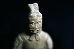 中国黏土战士 库存照片