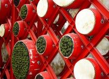 中国鼓新年度 免版税图库摄影