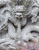 中国龙墙壁 免版税图库摄影