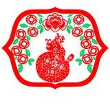 中国龙新年度 免版税图库摄影