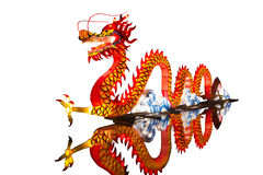 中国龙灯笼 免版税库存照片