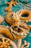中国龙皇家传统 库存图片