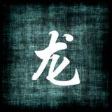 中国龙符号黄道带 库存图片