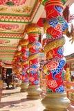 中国龙雕象 免版税库存照片
