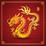 中国龙 免版税库存图片