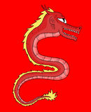 中国龙 库存图片