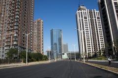 中国,亚洲,北京,望京住宅区 免版税库存图片