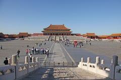 中国 北京 禁止的城市 至尊大厅的和谐 免版税库存照片