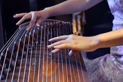 中国仪器音乐会 免版税图库摄影