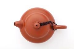 中国黏土茶壶 免版税库存图片