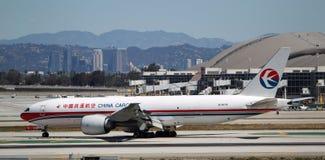 中国货运航空有限公司波音777-F6N 免版税库存图片