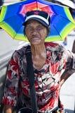 中国年长妇女 免版税库存照片
