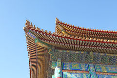 中国 Beijijng 在故宫的古铜色罐 图库摄影