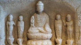 中国budha雕象 库存图片