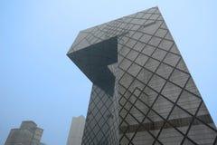 中国CCTV新的站点 免版税库存照片