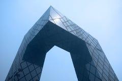 中国CCTV新的站点 免版税图库摄影
