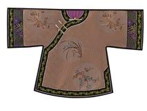 中国childs传统服装 免版税库存图片