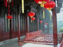 中国hu医学博物馆qingyutang 免版税库存照片