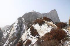 中国Huashan 免版税图库摄影