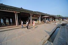 中国luodai老城镇 库存图片
