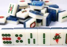 中国mahjong 库存图片