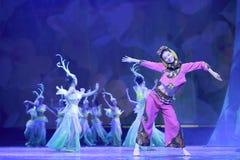 中国minnan民间舞 免版税库存图片
