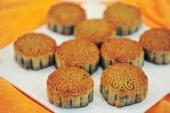 中国mooncakes 免版税库存图片