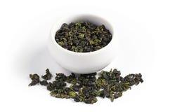 中国oolong茶 免版税库存照片