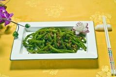 中国salade蔬菜 免版税库存图片