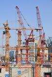 中国Zun建筑坑,北京,中国 免版税图库摄影