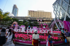 中央世界,曼谷 库存图片
