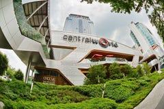 中央世界购物中心在曼谷 免版税图库摄影