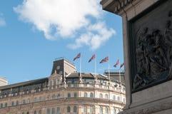 中央伦敦大厦 库存图片