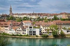 中央伯尔尼,瑞士 免版税库存照片